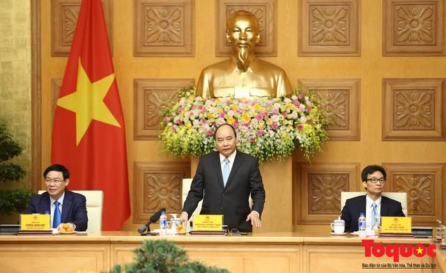 Thủ tướng Nguyễn Xuân Phúc: Đội tuyển Việt Nam là gam màu rất sáng đối với niềm tin của nhân dân trong phát triển thể thao của đất nước - Ảnh 6.