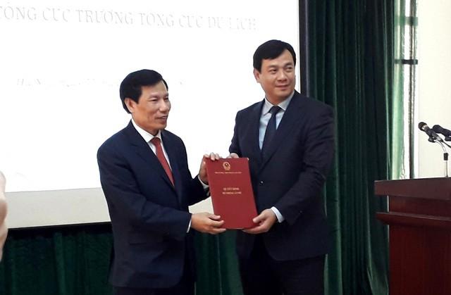Ông Nguyễn Trùng Khánh được bổ nhiệm giữ chức Tổng cục trưởng Tổng cục Du lịch - Ảnh 1.