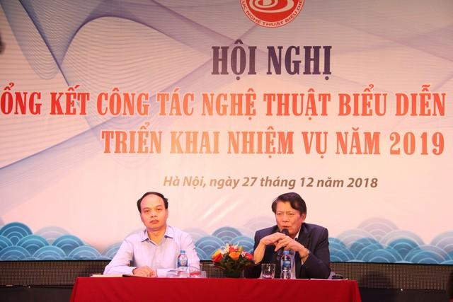 Thứ trưởng Lê Khánh Hải dự tổng kết công tác Nghệ thuật biểu diễn năm 2018 - Ảnh 2.
