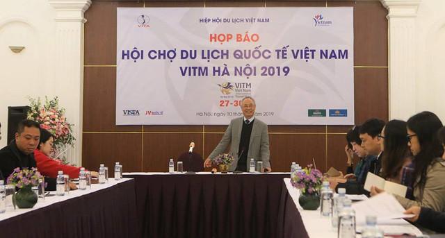 Họp báo giới thiệu về Hội chợ du lịch quốc tế Việt Nam VITM Hà Nội 2019 - Ảnh 1.
