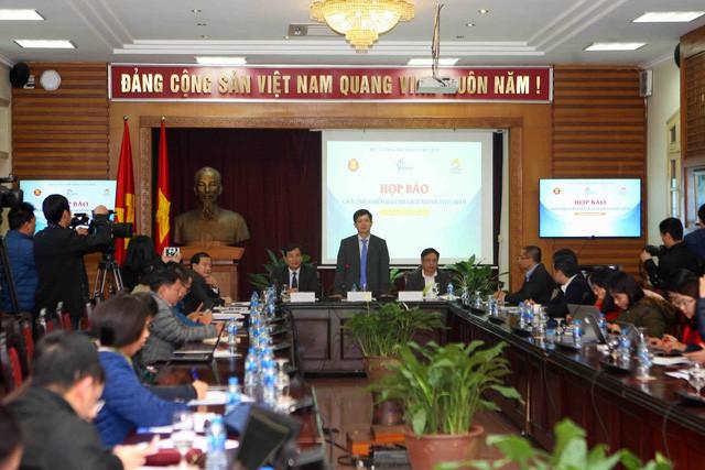 Thứ trưởng Lê Quang Tùng chủ trì họp báo giới thiệu về Diễn đàn Du lịch ASEAN (ATF) 2019 - Ảnh 2.