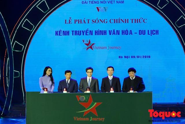 Lễ phát sóng chính thức Kênh truyền hình Văn hoá - Du lịch (Vietnam Journey) - Ảnh 3.