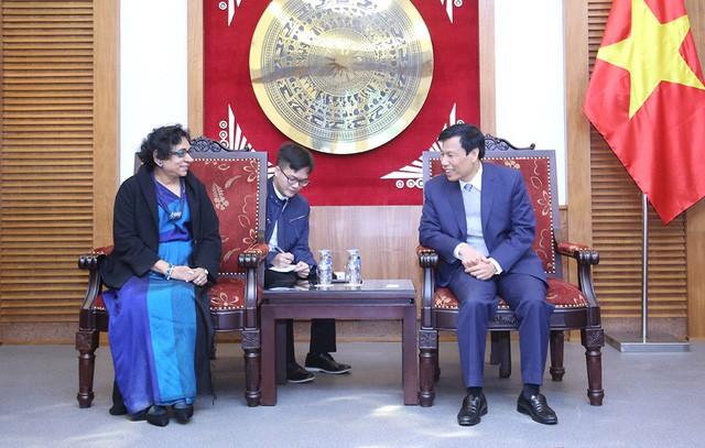 Bộ trưởng Nguyễn Ngọc Thiện tiếp Đại sứ Sri Lanka - Ảnh 1.