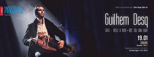 Nghệ sĩ tài năng người Pháp Guilhem Desq biểu diễn tại Hà Nội - Ảnh 1.