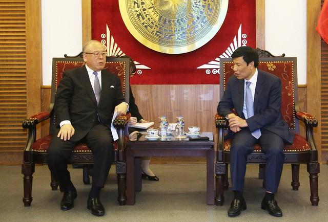 Thúc đẩy hơn nữa mối quan hệ hợp tác trong lĩnh vực VHTTDL giữa Việt Nam - Nhật Bản - Ảnh 1.