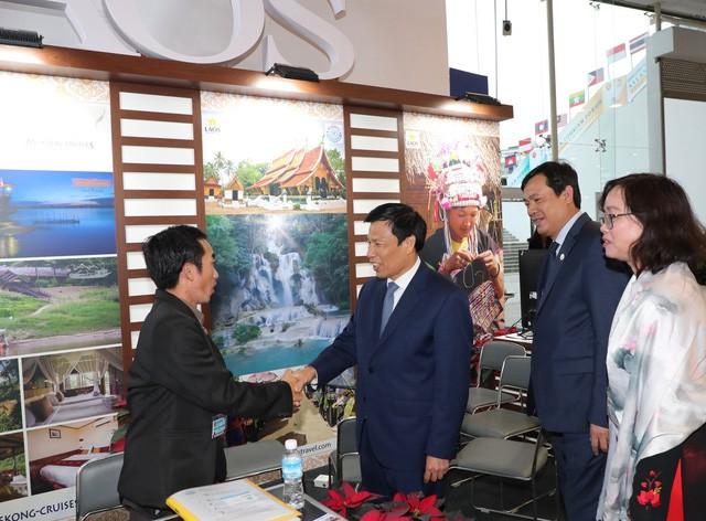 Bộ trưởng Nguyễn Ngọc Thiện thăm Hội chợ Du lịch Travex 2019 - Ảnh 6.