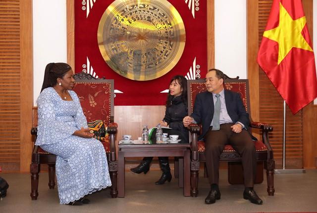 Thứ trưởng Lê Khánh Hải tiếp Đại sứ nước Cộng hòa Gana tại Malaysia kiêm nhiệm Việt Nam - Ảnh 1.