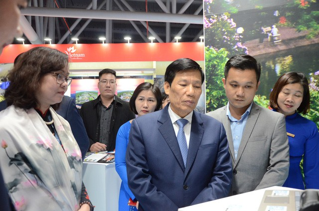 Bộ trưởng Nguyễn Ngọc Thiện thăm Hội chợ Du lịch Travex 2019 - Ảnh 8.