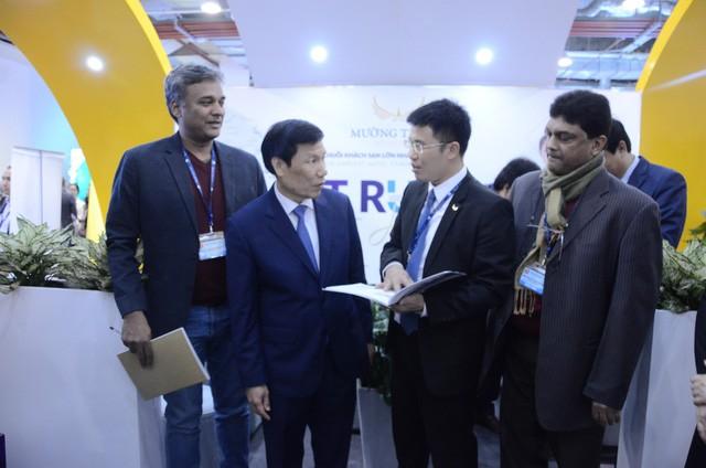 Bộ trưởng Nguyễn Ngọc Thiện thăm Hội chợ Du lịch Travex 2019 - Ảnh 9.