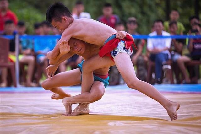 Hà Nội đăng cai giải Vô địch Vật dân tộc toàn quốc lần thứ 23  - Ảnh 1.