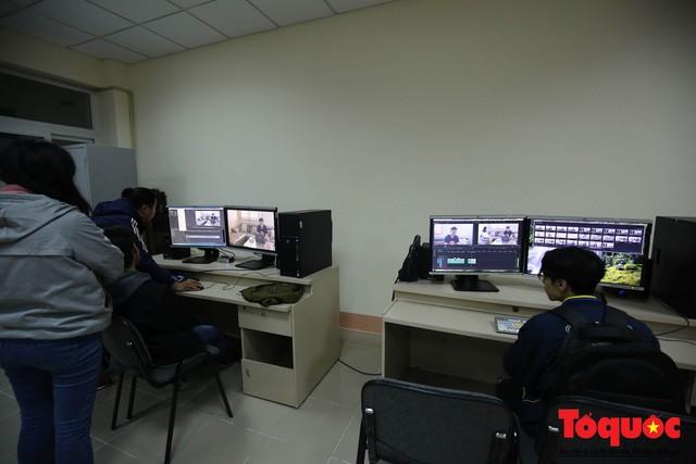 Triển khai Chương trình Campus Tour của Trường Đại học Sân khấu Điện ảnh Hà Nội  - Ảnh 11.