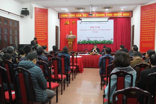 Ban Quản lý Làng Văn hóa - Du lịch các dân tộc Việt Nam: Phát động phong trào thi đua thực kiện kế hoạch công tác năm 2019 - Ảnh 1.