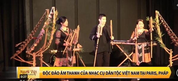 Khán giả Pháp cuốn hút trước âm nhạc truyền thống Việt Nam - Ảnh 1.