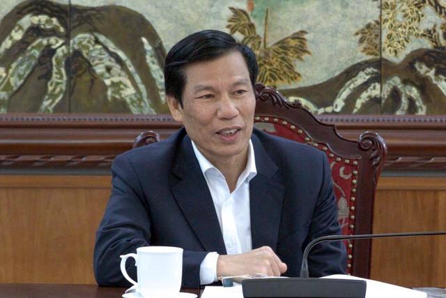 Bộ trưởng Nguyễn Ngọc Thiện làm việc với Tổng cục Du lịch - Ảnh 1.