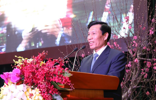 Bộ trưởng Nguyễn Ngọc Thiện gặp mặt, chúc tết lão thành cách mạng, đội ngũ trí thức từng công tác tại Bộ - Ảnh 1.