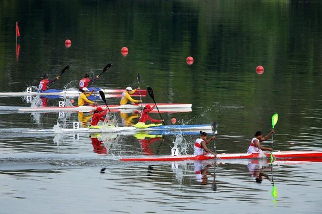 Lần đầu tiên tổ chức Lễ hội đua thuyền trên sông Pô Cô - Ảnh 1.