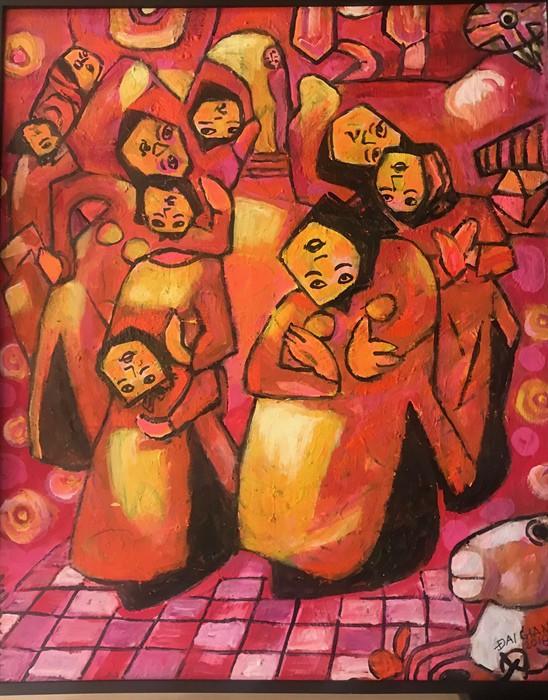Bảo tàng Mỹ thuật Việt Nam tiếp nhận tranh của họa sĩ Việt kiều Mỹ - Ảnh 2.