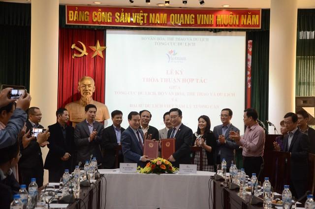 Lễ ký thỏa thuận hợp tác giữa Tổng cục Du lịch với  Đại sứ du lịch Việt Nam - Ảnh 2.
