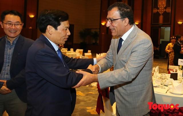 Bộ trưởng Nguyễn Ngọc Thiện tiếp các Đại sứ nước ngoài tại Việt Nam nhân dịp Tết Kỷ Hợi 2019 - Ảnh 4.