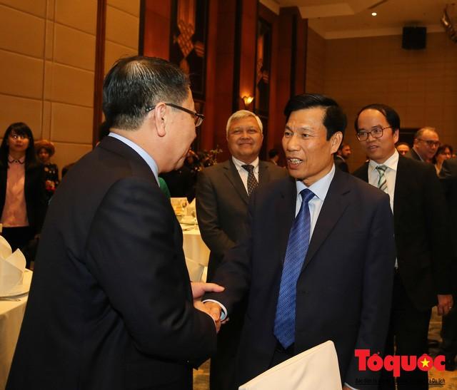 Bộ trưởng Nguyễn Ngọc Thiện tiếp các Đại sứ nước ngoài tại Việt Nam nhân dịp Tết Kỷ Hợi 2019 - Ảnh 5.