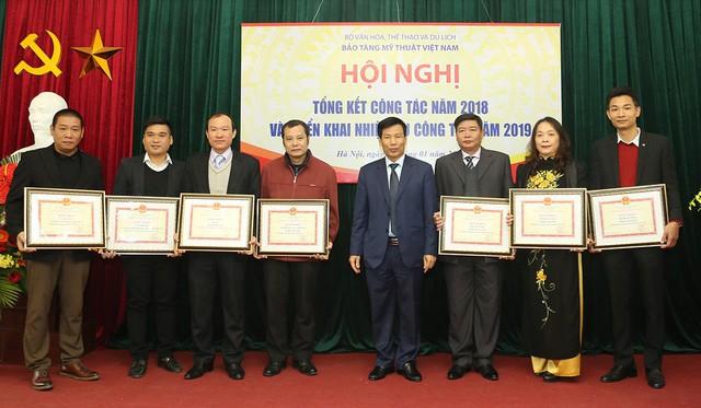 Bộ trưởng Nguyễn Ngọc Thiện: Lãnh đạo Bảo tàng Mỹ thuật Việt Nam phải có tư duy mới trong hướng đi, cách làm để tạo ra đột phá - Ảnh 3.