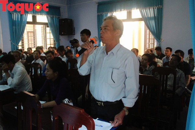 Bộ trưởng Nguyễn Ngọc Thiện tiếp xúc cử tri Thị xã Hương Trà - Ảnh 3.