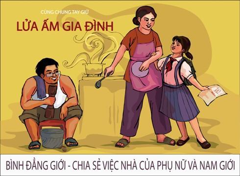 Hà Nội triển khai Tháng hành động vì bình đẳng giới và phòng, chống bạo lực trên cơ sở giới - Ảnh 1.