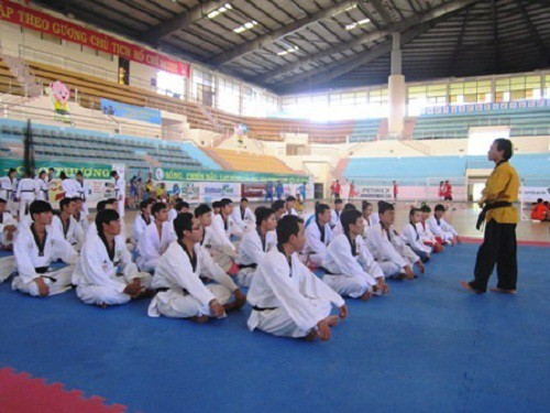 Đồng Tháp: Trang bị kiến thức cho các Hướng dẫn viên và trọng tài môn Karate, Vovinam, Taekwondo, Võ cổ truyền - Ảnh 1.