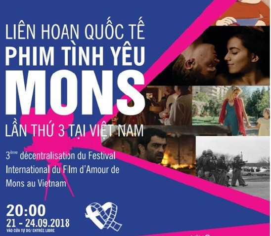 Liên hoan Quốc tế phim Tình yêu Wallonie-Bruxelles sẽ diễn ra từ 30/11 – 3/12/2019 - Ảnh 1.