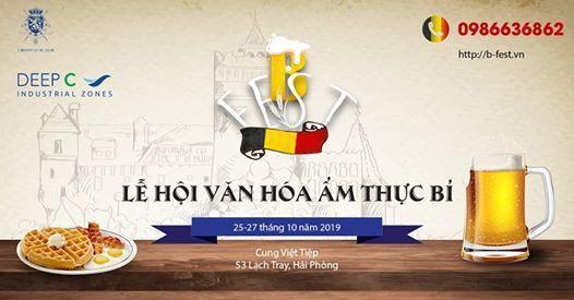 Lần đầu tiên tổ chức lễ hội văn hóa ẩm thực Bỉ tại Hải Phòng - Ảnh 1.
