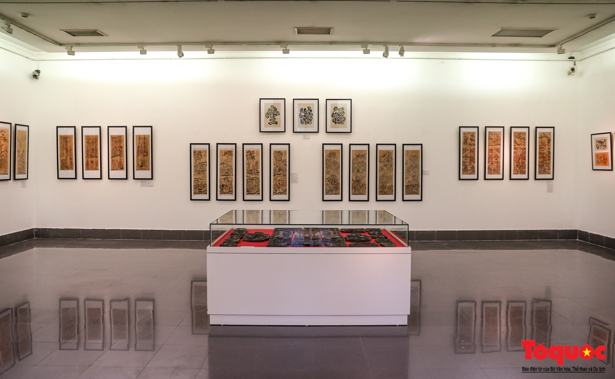 """Khai mạc triển lãm """"Tranh dân gian Đông hồ xưa và nay"""": Trưng bày hơn 100 hiện vật của tranh dân gian Đông Hồ - Ảnh 4."""