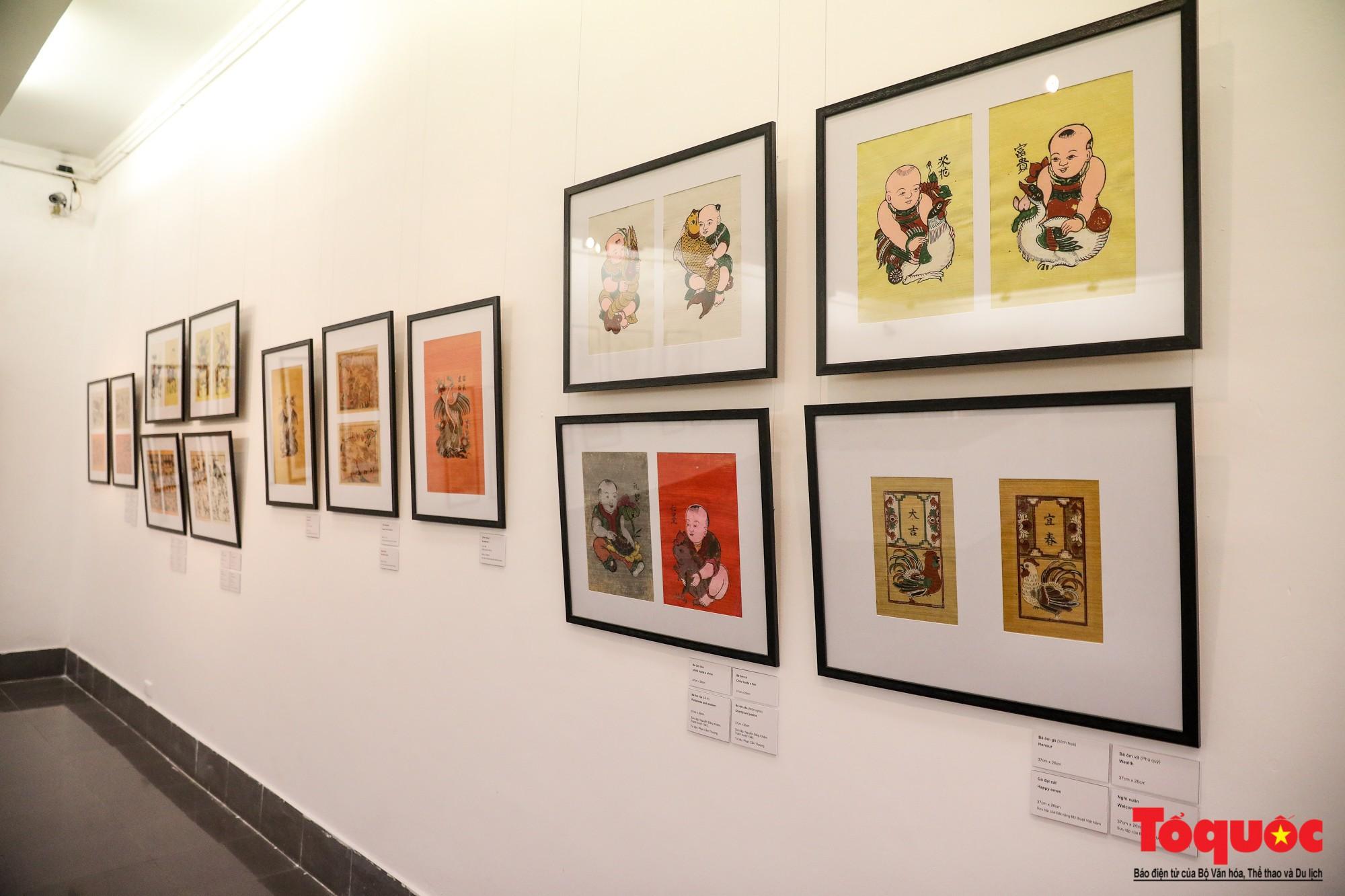 """Khai mạc triển lãm """"Tranh dân gian Đông hồ xưa và nay"""": Trưng bày hơn 100 hiện vật của tranh dân gian Đông Hồ - Ảnh 11."""