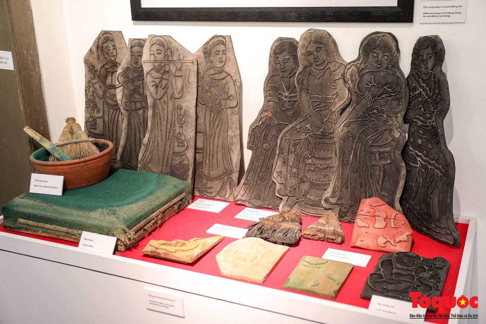 """Khai mạc triển lãm """"Tranh dân gian Đông hồ xưa và nay"""": Trưng bày hơn 100 hiện vật của tranh dân gian Đông Hồ - Ảnh 7."""