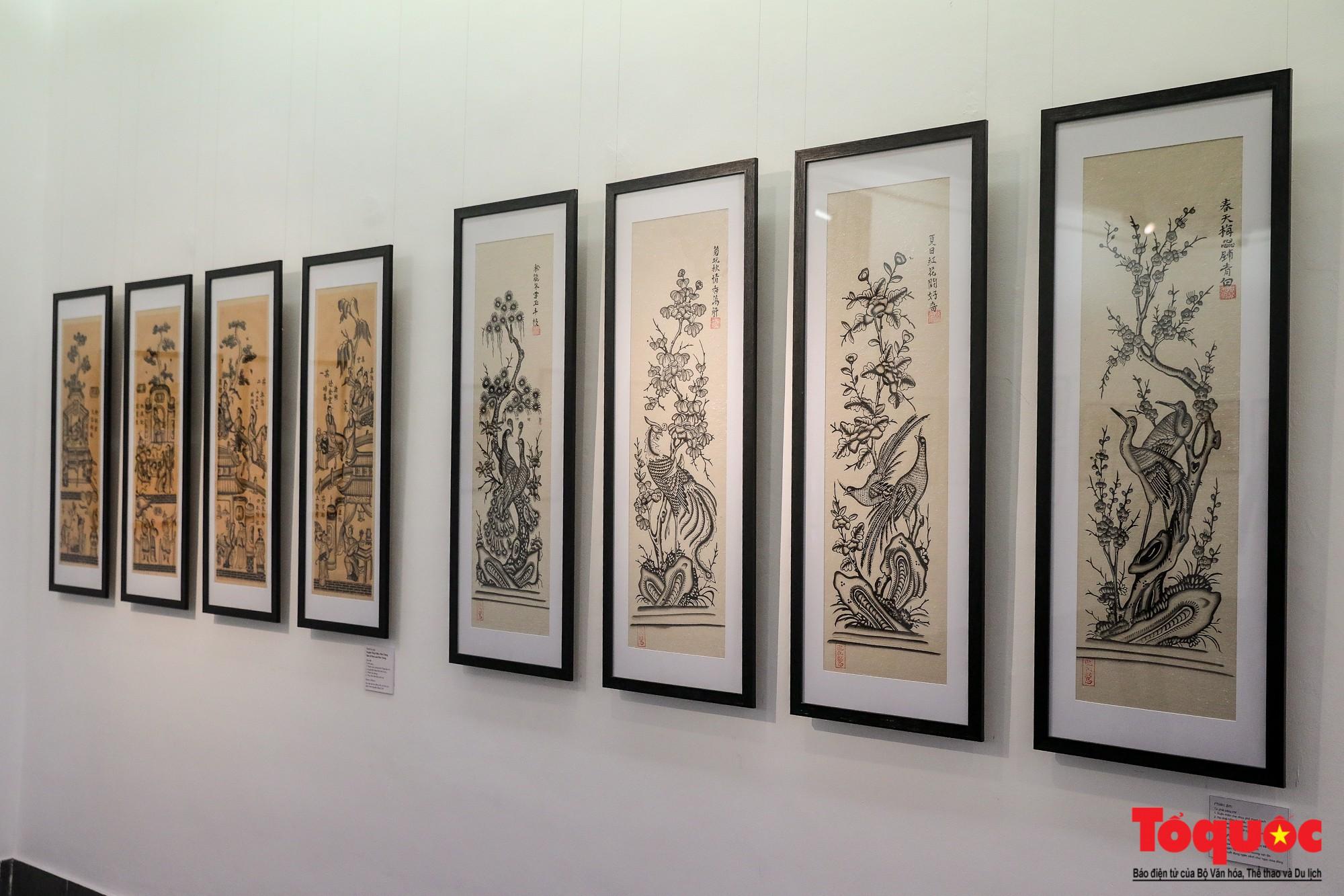 """Khai mạc triển lãm """"Tranh dân gian Đông hồ xưa và nay"""": Trưng bày hơn 100 hiện vật của tranh dân gian Đông Hồ - Ảnh 6."""