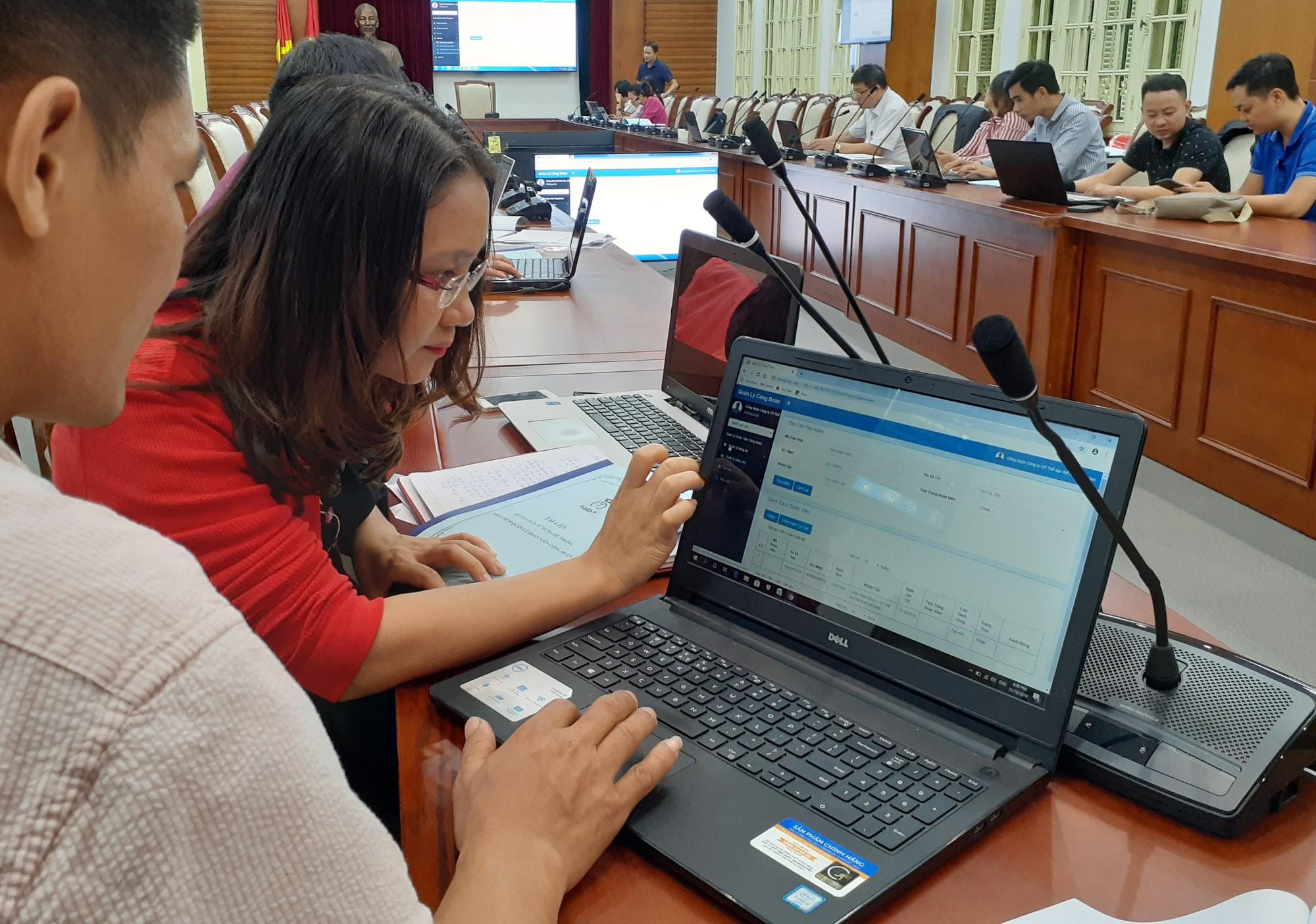 100 đại biểu Bộ VHTTDL dự tập huấn sử dụng phần mềm quản lý công đoàn viên - Ảnh 3.