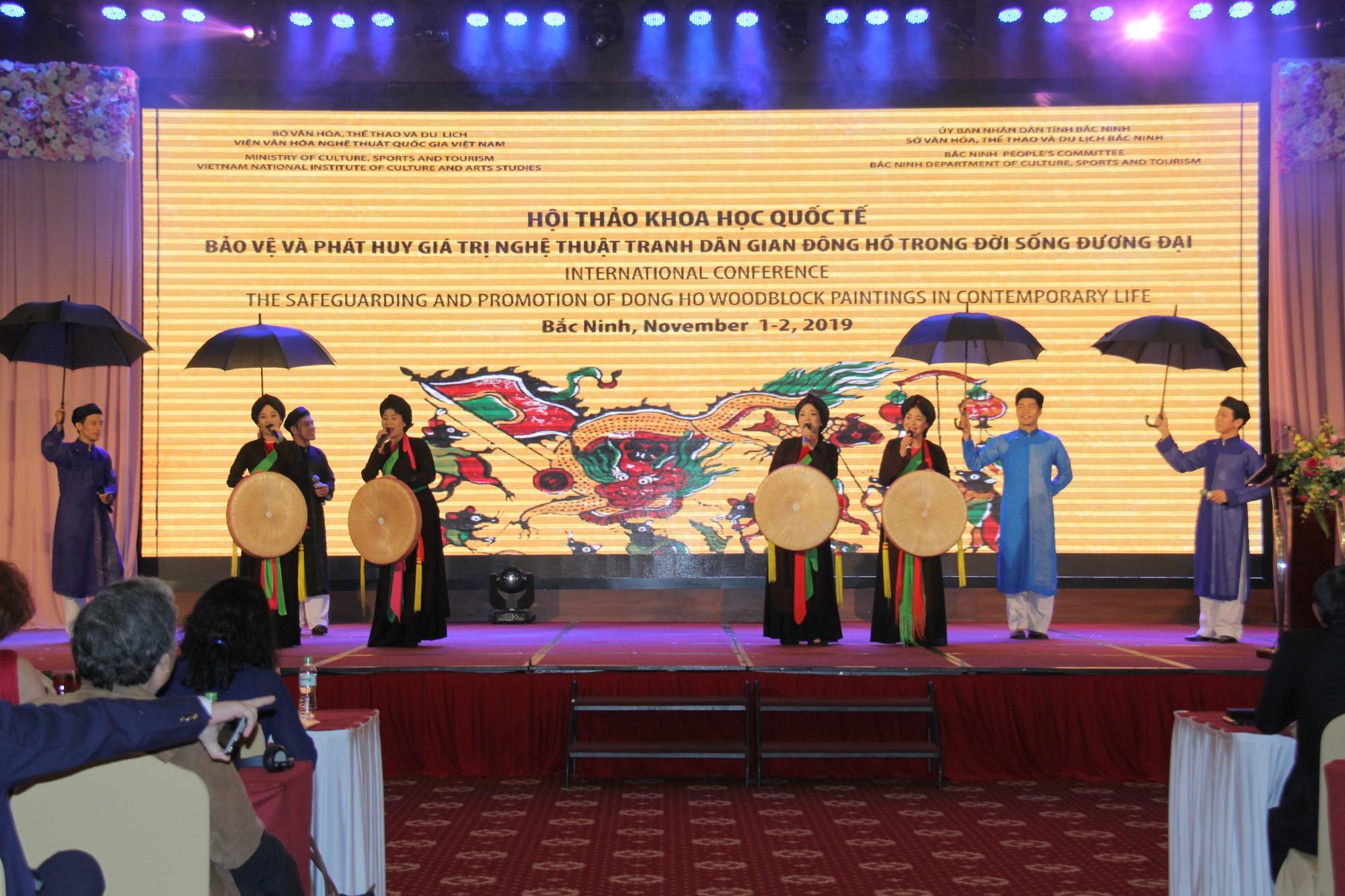 Bài toán khó cho công tác bảo tồn và phát triển tranh dân gian Đông Hồ trong đời sống đương đại - Ảnh 3.