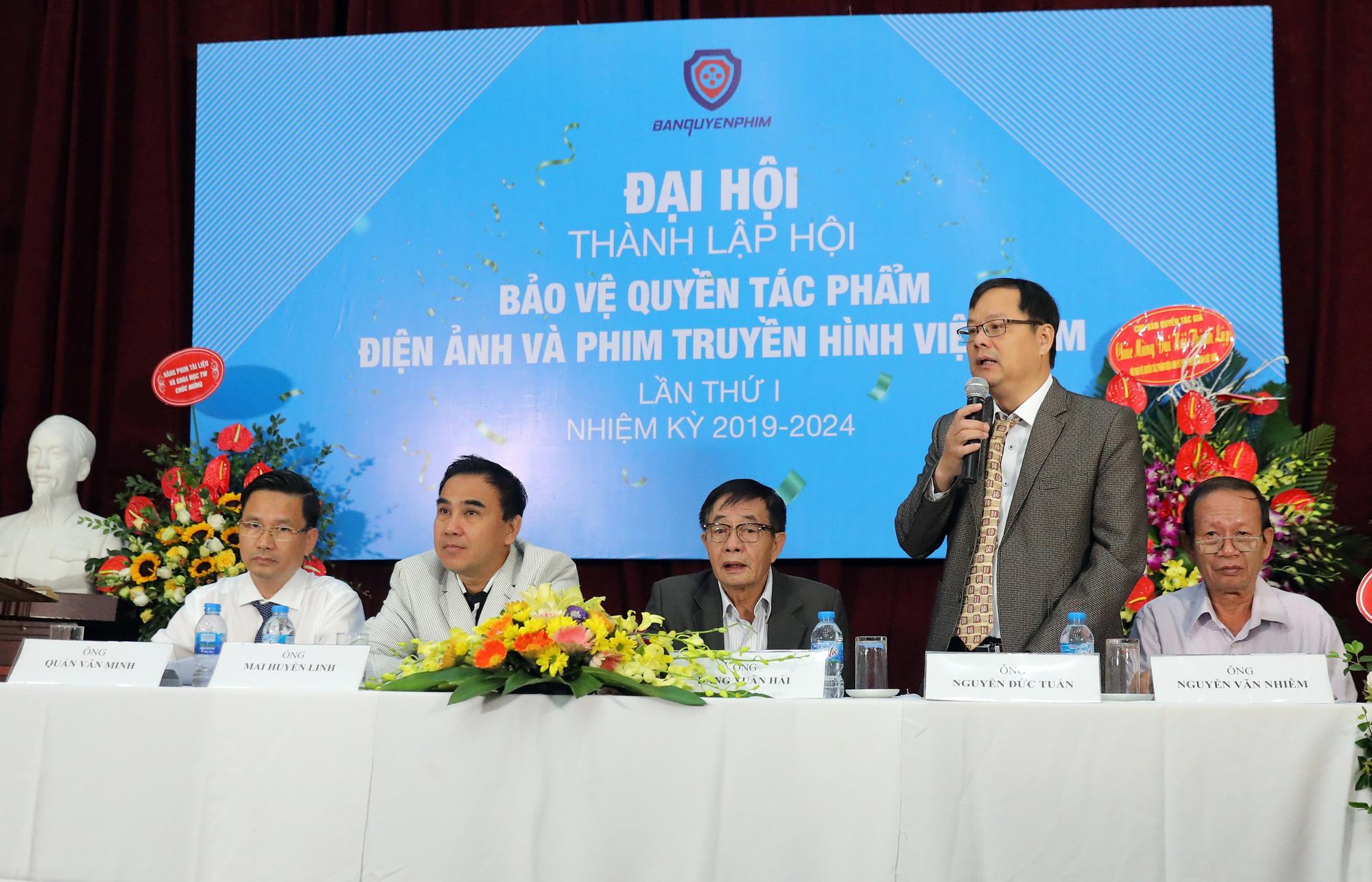 Thành lập Hội Bảo vệ quyền tác phẩm điện ảnh và phim truyền hình Việt Nam - Ảnh 1.