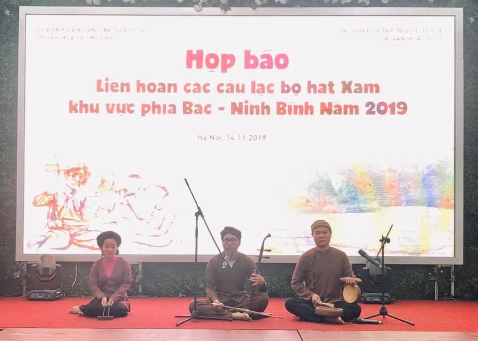 Liên hoan hát Xẩm các tỉnh phía Bắc: chuẩn bị cho việc lập hồ sơ công nhận hát Xẩm là di sản văn hóa phi vật thể quốc gia - Ảnh 1.