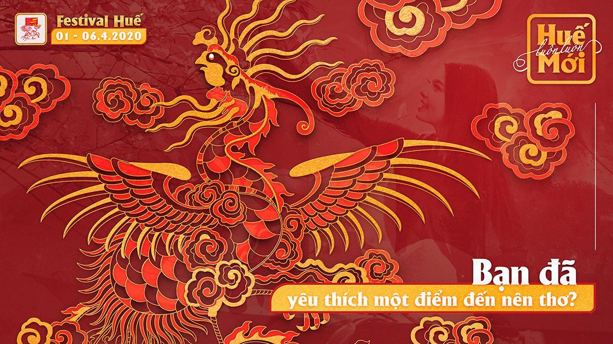 Bốn linh vật nghệ thuật cung đình Huế được chọn làm hình ảnh nhận diện Festival Huế 2020 - Ảnh 5.