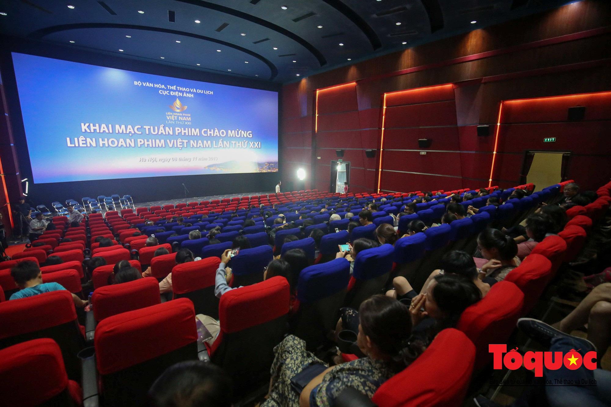 Khai mạc Tuần phim Chào mừng Liên hoan phim Việt Nam lần thứ XXI  - Ảnh 1.