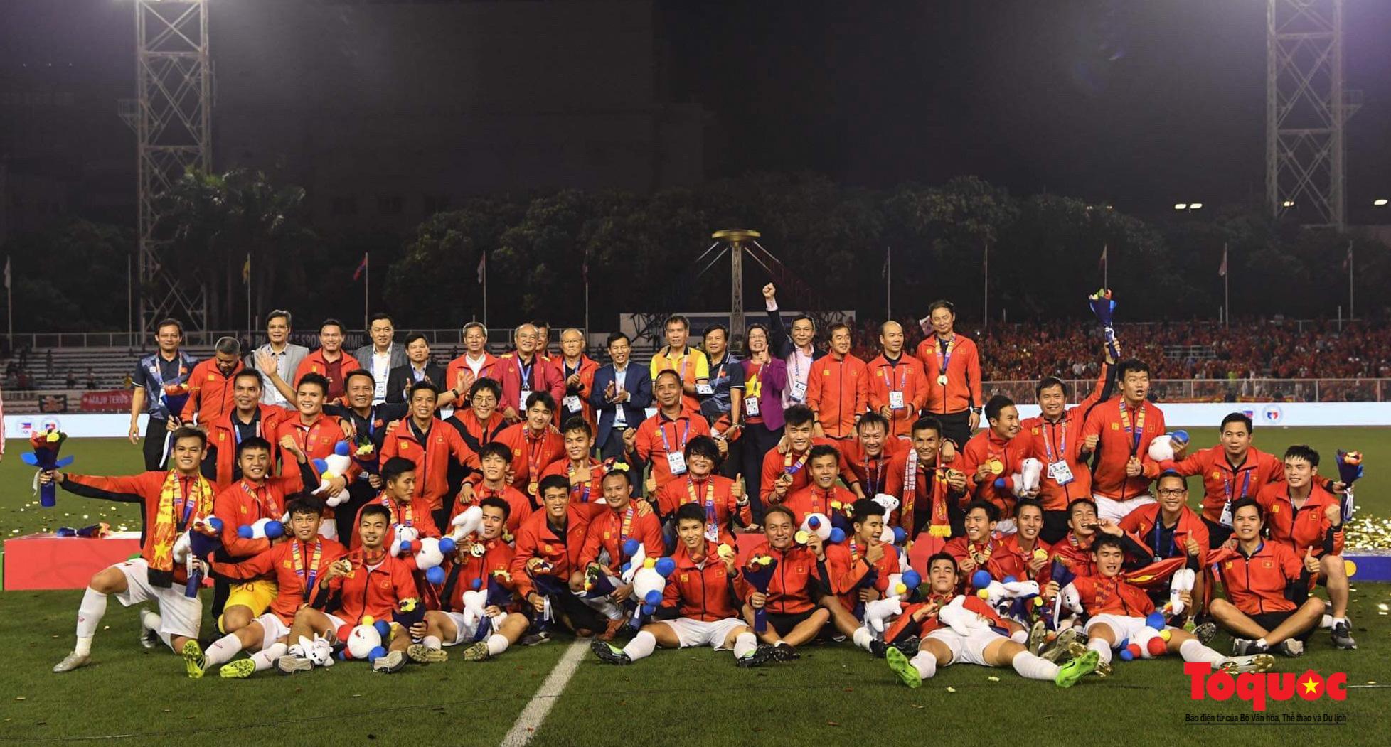 Tinh thần Việt Nam, Ý chí Việt Nam lan tỏa từ một kỳ SEA Games thành công nhất trong lịch sử thể thao nước nhà - Ảnh 1.