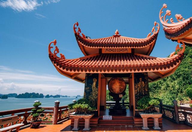 Đầu xuân về chiêm bái ngôi chùa  được xây dựng nơi cửa ải vùng Đông Bắc của Tổ quốc - Ảnh 4.