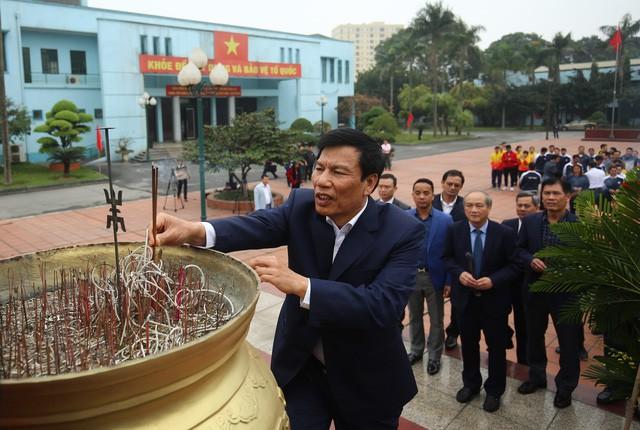 Hình ảnh Bộ trưởng Nguyễn Ngọc Thiện thăm và chúc Tết các VĐV, HLV  - Ảnh 10.