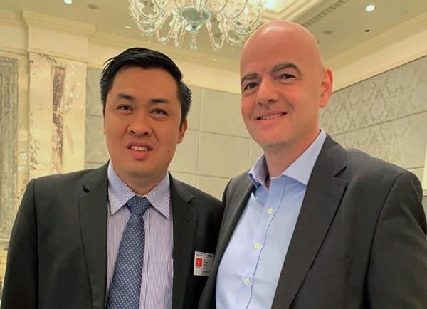 Việt Nam tham dự Hội nghị bóng đá cấp cao FIFA 2018/2019 - Ảnh 1.