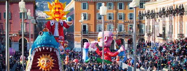 Sôi động lễ hội Carnival Nice ở Pháp - Ảnh 1.
