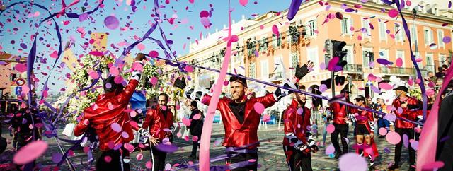 Sôi động lễ hội Carnival Nice ở Pháp - Ảnh 3.