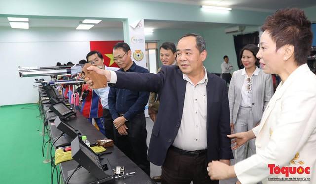 Thứ trưởng Lê Khánh Hải làm việc với Liên đoàn Bắn súng Việt Nam - Ảnh 2.
