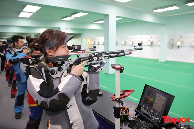 Thứ trưởng Lê Khánh Hải làm việc với Liên đoàn Bắn súng Việt Nam - Ảnh 3.