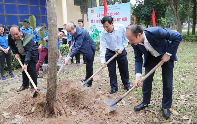 Bộ trưởng Nguyễn Ngọc Thiện thăm và làm việc với Trường Đại học Thể dục, Thể thao Bắc Ninh  - Ảnh 3.