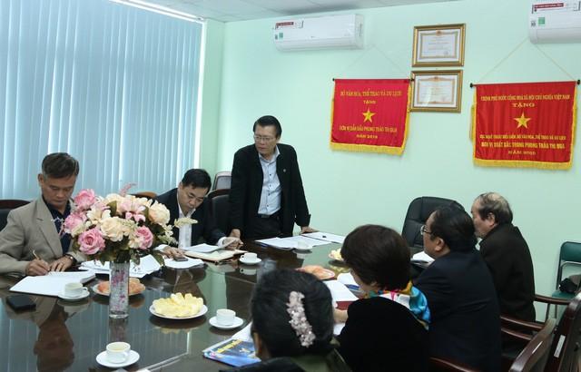 Xây dựng kế hoạch phối hợp giữa Cục Nghệ thuật biểu diễn với Hội Nhà văn Việt Nam - Ảnh 1.